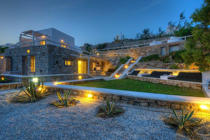 Votsalaki Resort Mykonos- Villa K, vacation rental in Paradise Beach
