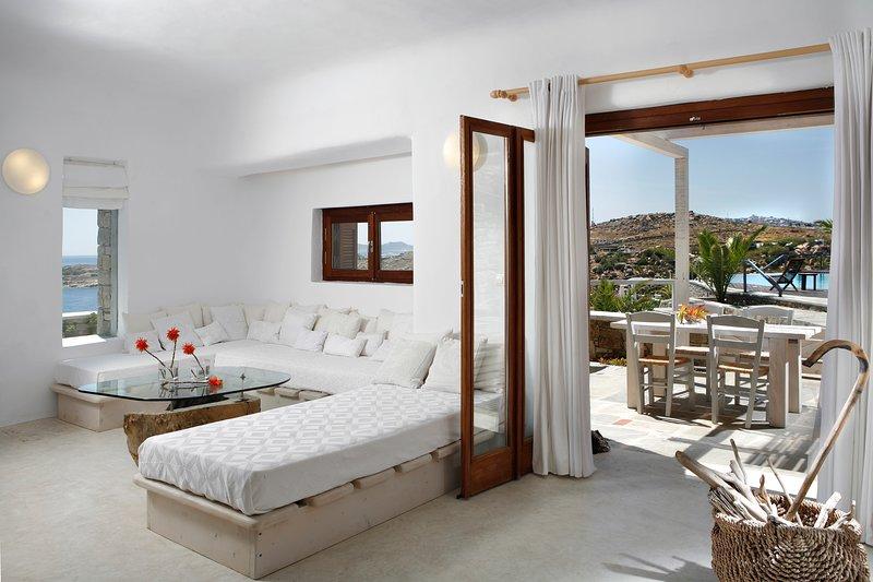 Votsalaki Resort Mykonos- Villa Ε, vacation rental in Paradise Beach