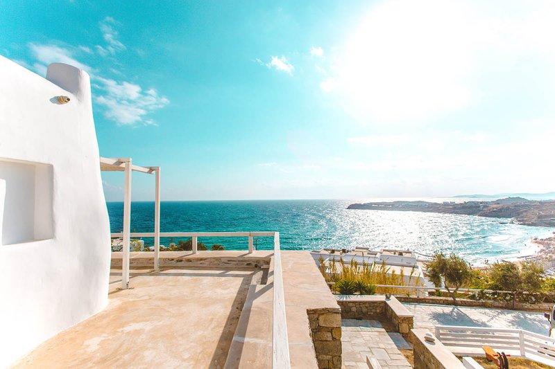 Votsalaki Resort Mykonos- Studio 8, vacation rental in Paradise Beach