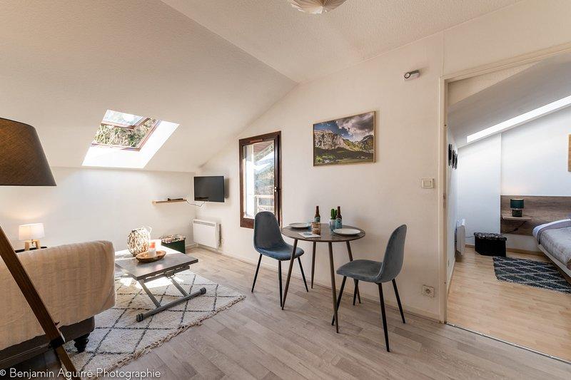 � Le Semnoz - Appartement de 30m² au pied de la montagne, holiday rental in Seynod