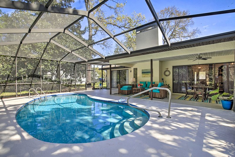 NEW! Homosassa Home w/Lanai~River Adventure Awaits, holiday rental in Homosassa Springs
