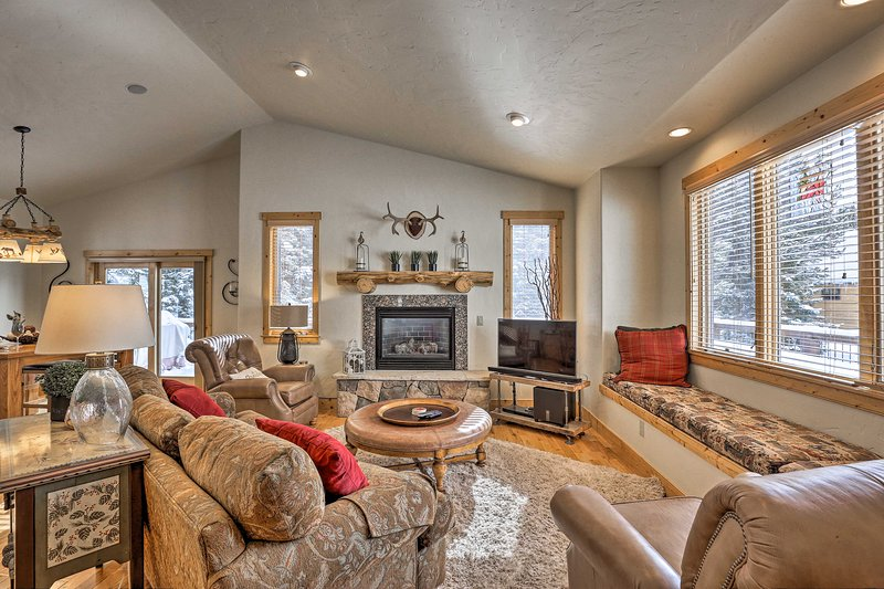 Base all your adventures in Breck from this spacious mountain retreat.