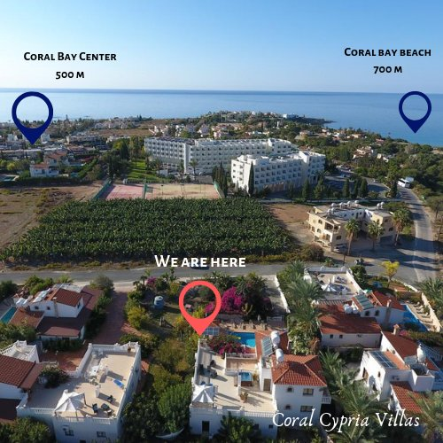 Coral  cypria  coral  bay  villas, vacation rental in Peyia