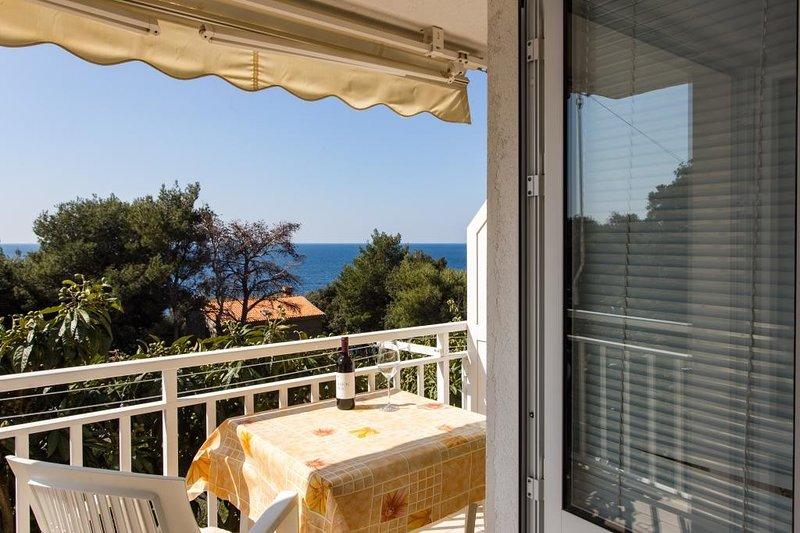 Apartments Villa Ana Dingač - One Bedroom Apartment with Balcony 1, aluguéis de temporada em Potomje