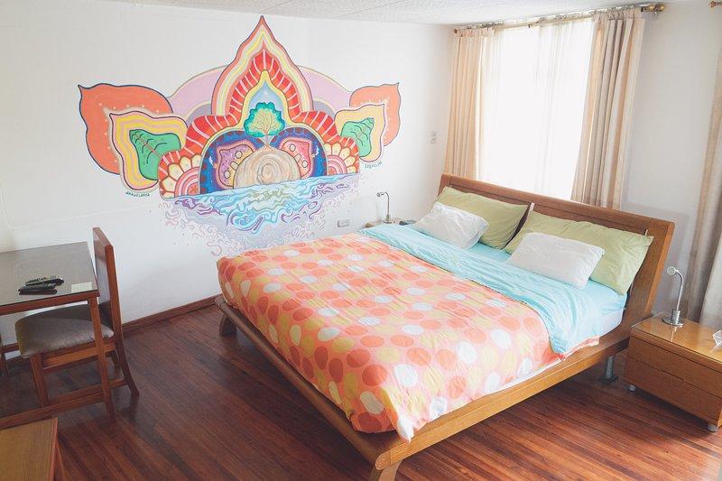 Suite en bed and breakfast, location de vacances à Cuenca