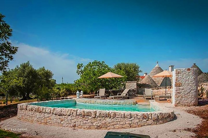Trullo Dorato - Alberobello, vacation rental in Coreggia