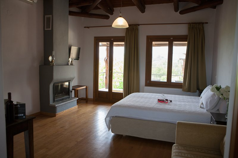 Hotel Alkifron Pelion- Kala Nera, vacation rental in Milies