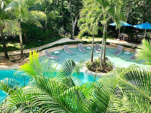 2 BEDROOMS APARTMENT AT BAHIA PRINCIPE RESORT, location de vacances à Chemuyil