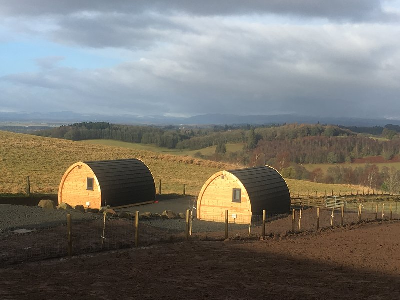 The Arns Glamping Pods, holiday rental in Stirling
