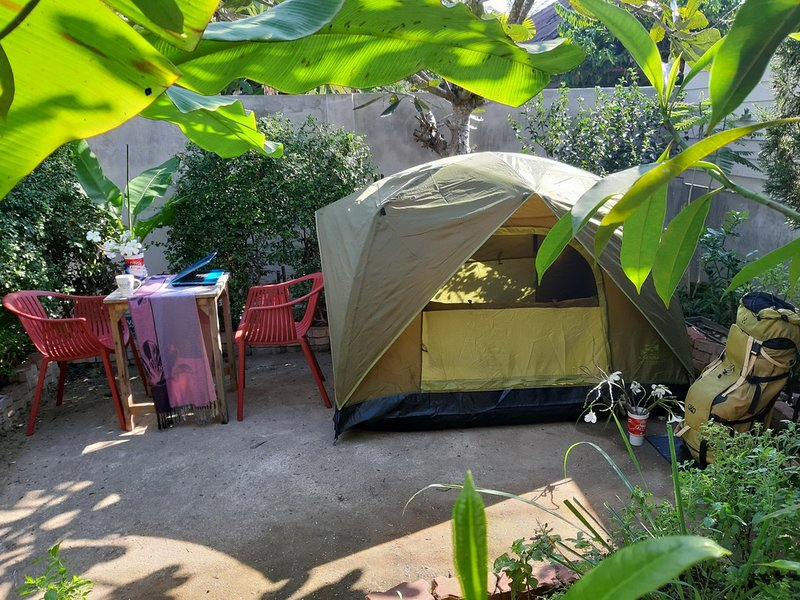 Mj Tent 1or2 Person on my YARD., holiday rental in San Sai