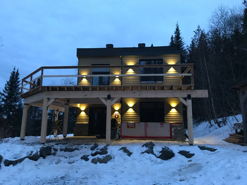 Chalet du Ruisseau, holiday rental in Chaudiere-Appalaches