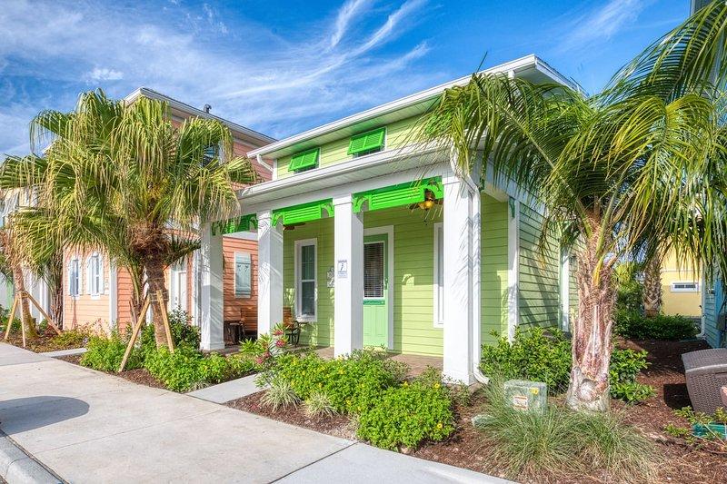 Cottage near Disney at the New Margaritaville Resort Orlando, aluguéis de temporada em Kissimmee