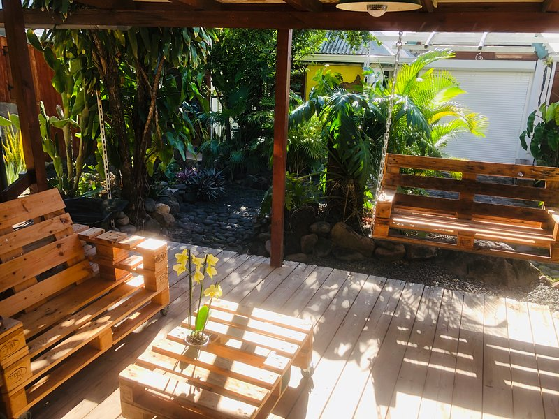 Beautiful apartment with garden, vacation rental in Basse-Terre