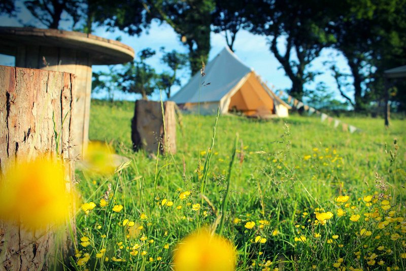 The Dalai Llama Glamping Bell Tent - Family Zone, vacation rental in Winston