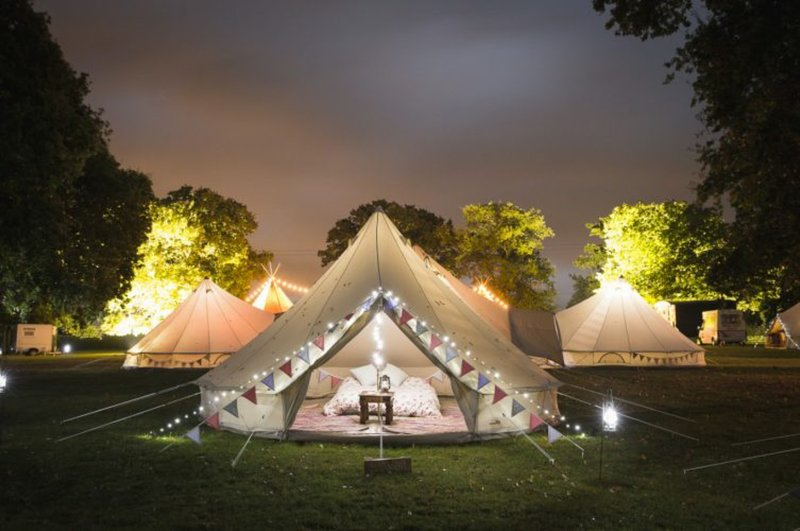Stargazer Bell Tent - Hang Out Zone, holiday rental in Hudswell