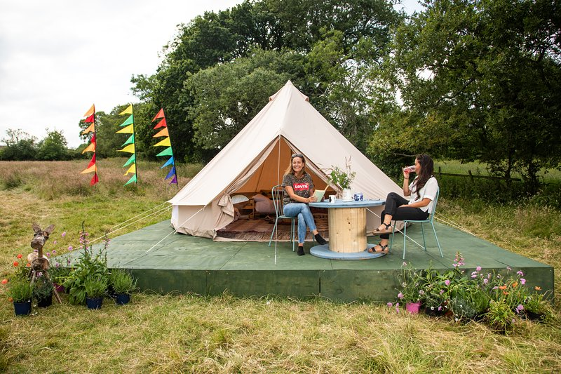 Infinite Sun  Glamping Bell Tent - The Family Zone, holiday rental in Bagby