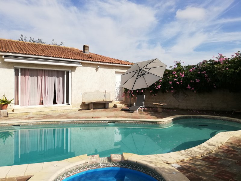 Nice villa with swimming-pool, holiday rental in Bravone
