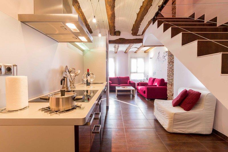 ARENAS DE SAL a 10 mim. de Teruel y Dinópolis y 15 min. de Albarracín. TE ESPERO, alquiler vacacional en Gea de Albarracín