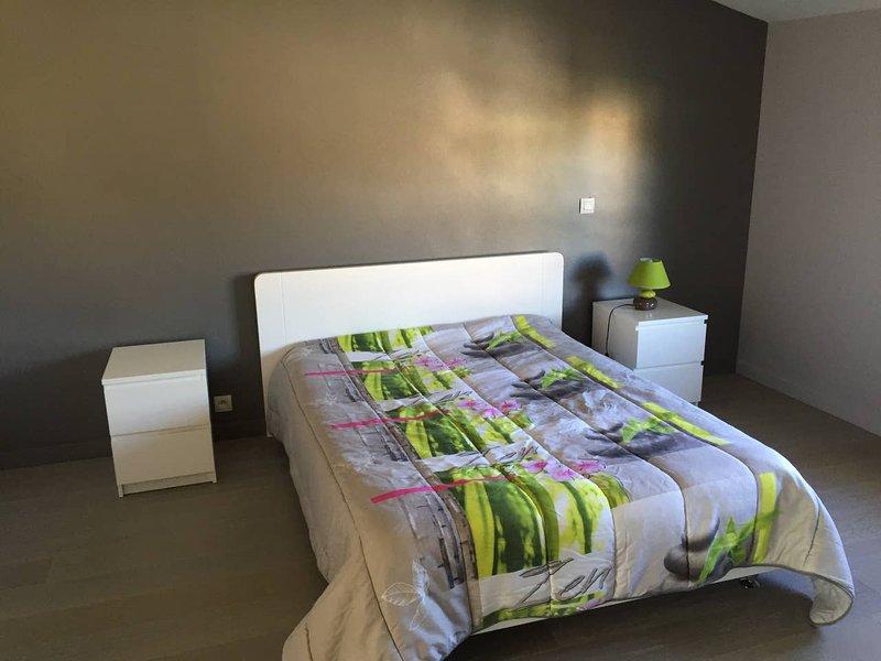 Grande chambre privée avec salle de bain et WC, vacation rental in Lagardelle-sur-Leze