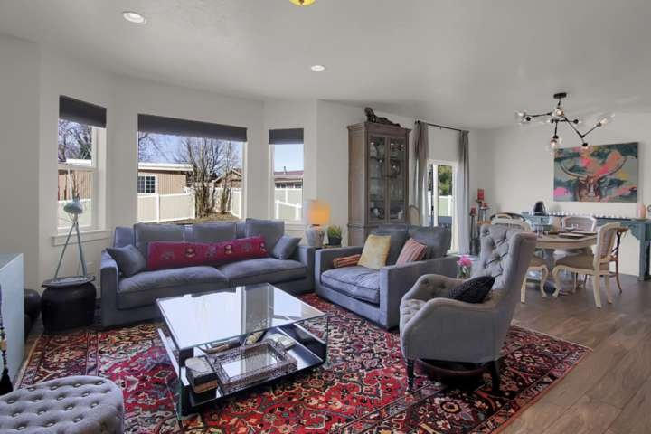 Open Concept allows Conversations to Flow Freely
