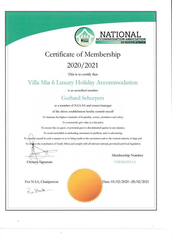 NAA-SA Membership
