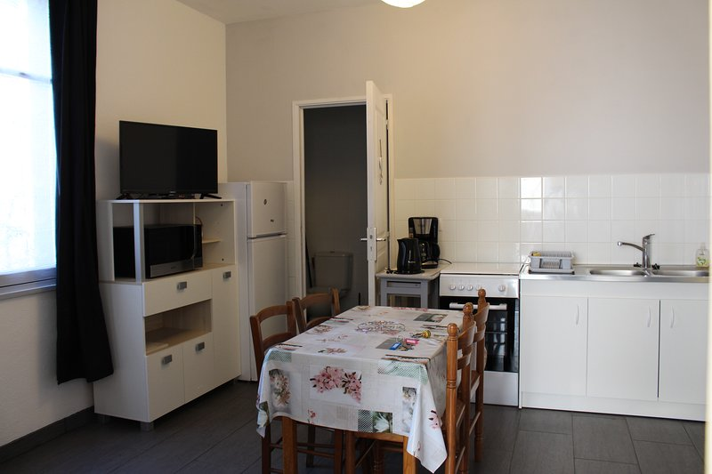 Beautiful apartment with garden, holiday rental in Saint-Pierre-le-Chastel