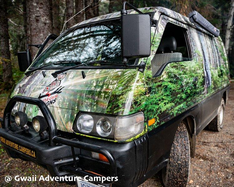 Gwaii Adventure Campers, holiday rental in Sandspit