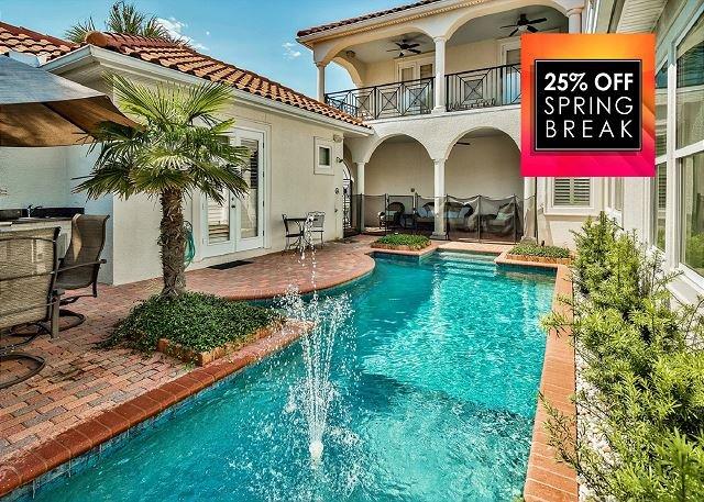 Pearl of Destiny: piscina privata e area patio