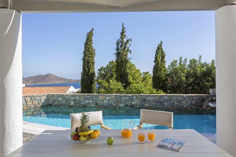 Luxury,amazing sea view,relaxing, pool, holiday rental in Ellinika