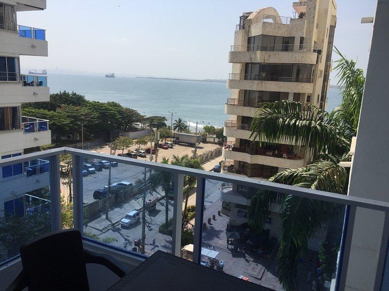 Apartamento en Cartagena Frente al Mar 1C6, location de vacances à Bocachica