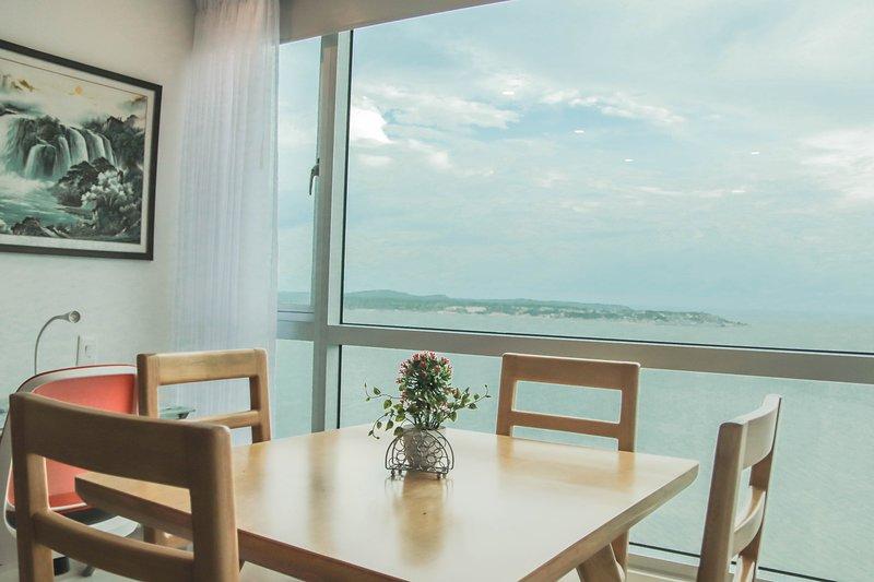Apartamento en Cartagena Frente al Mar 1ps17 Con Aire acondicionado y Wifi hogar, casa vacanza a Isla Grande
