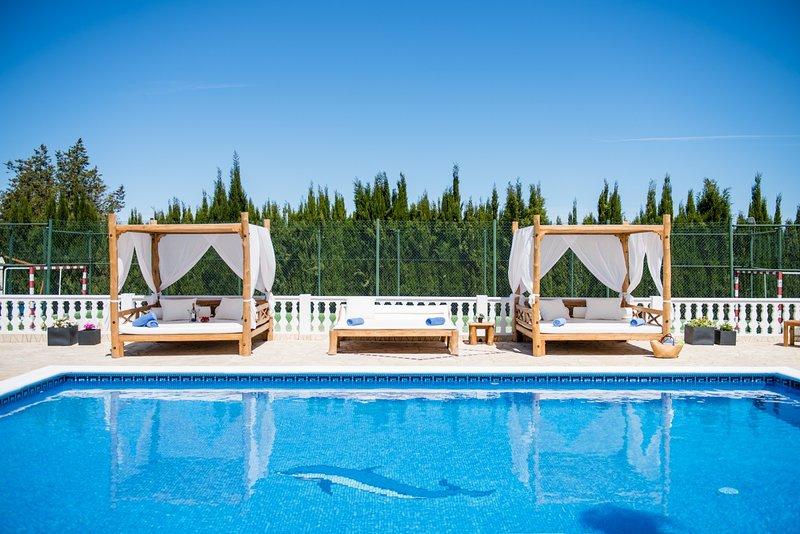 ⭐⭐⭐⭐⭐SANITIZED  Lovingly Restored Luxury villa near Ibiza Town, holiday rental in Sant Antoni de Portmany