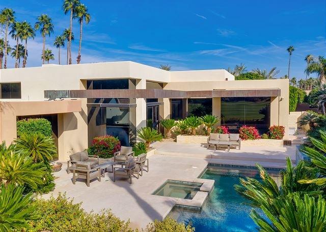 Villa Monte of Indian Wells: Zen Getaway w/ Pool, Spa & Fairway Vistas, holiday rental in Indian Wells