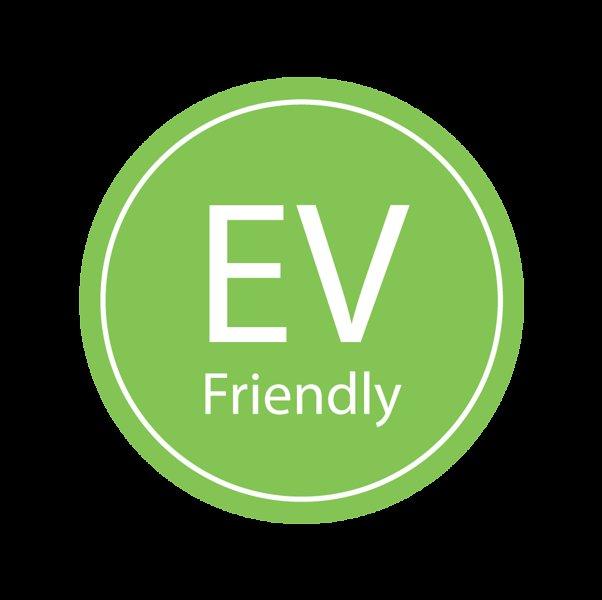 Convient aux véhicules électriques avec un point de charge disponible.