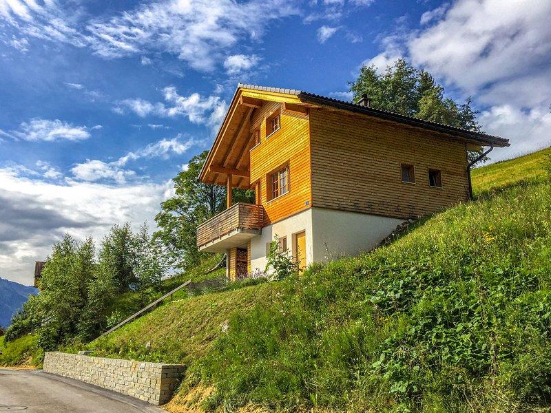 Börtji, holiday rental in Gruesch