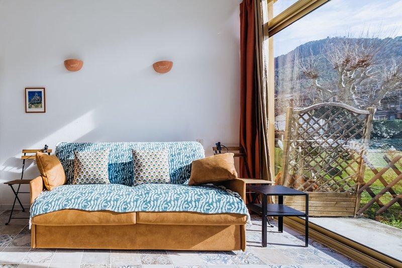 Le Garibaldi - Studio cosy Sospel, location de vacances à La Bollene Vesubie