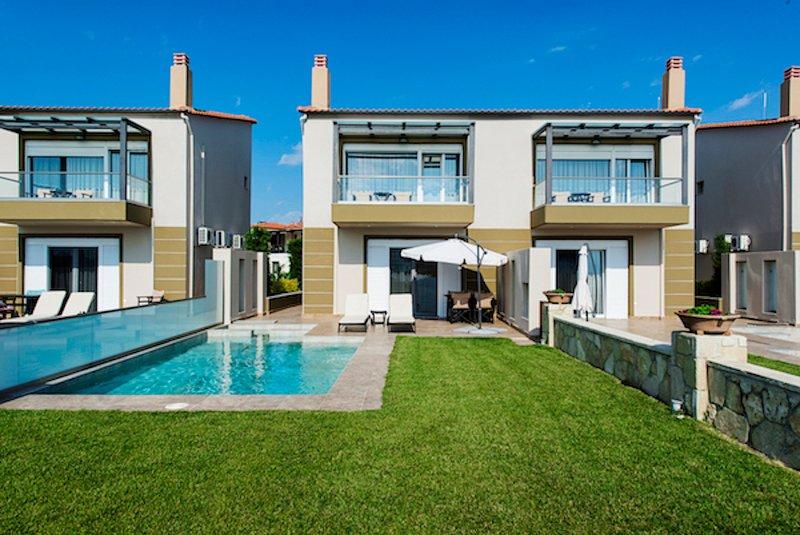 Villa Illios Spa, casa vacanza a Nea Skioni