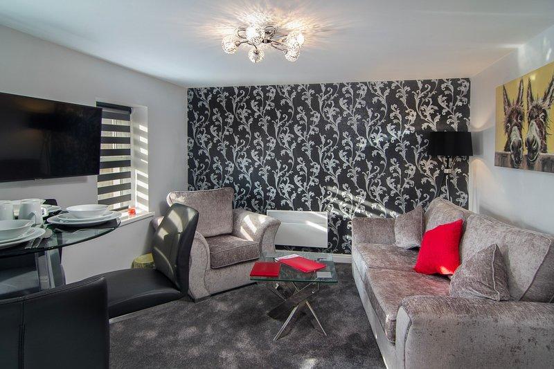 New Luxury Seaview Apt3 FREE Parking, Special Deal, alquiler de vacaciones en Blackpool