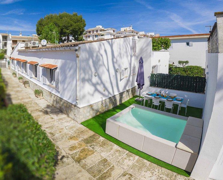 Villa Diana, alquiler de vacaciones en Port d'Alcudia