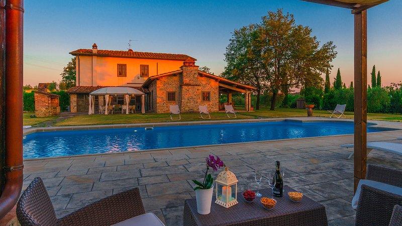 CASALE LA SPLENDIDA 10, Emma Villas Exclusive, location de vacances à Levane