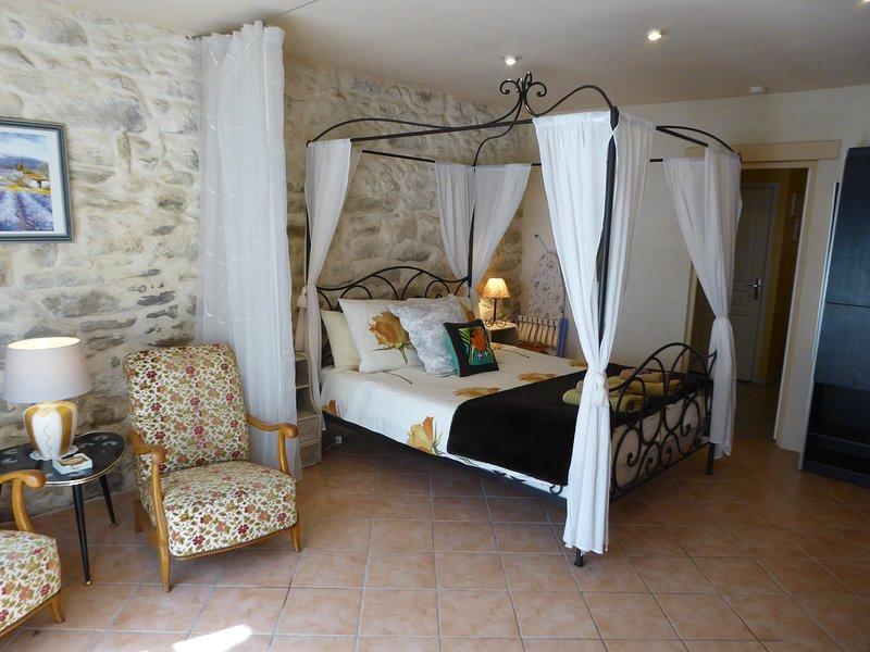 Le Kiwi at Mas Saint Antoine sleeps 2, holiday rental in Barbentane