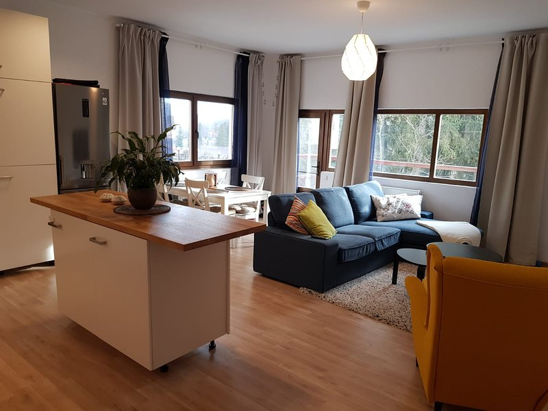Olala Forest Apartment G2, Ferienwohnung in Pietrosita