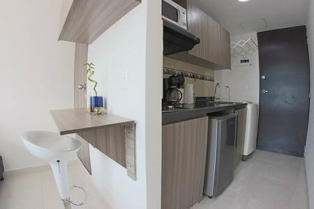 apartamento loft  confort y cercania todo., holiday rental in Copacabana