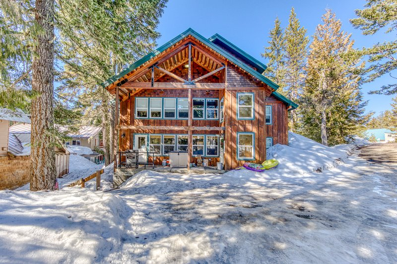 Gorgeous and spacious dog-friendly cabin - ideal for families!, holiday rental in Timberline Lodge