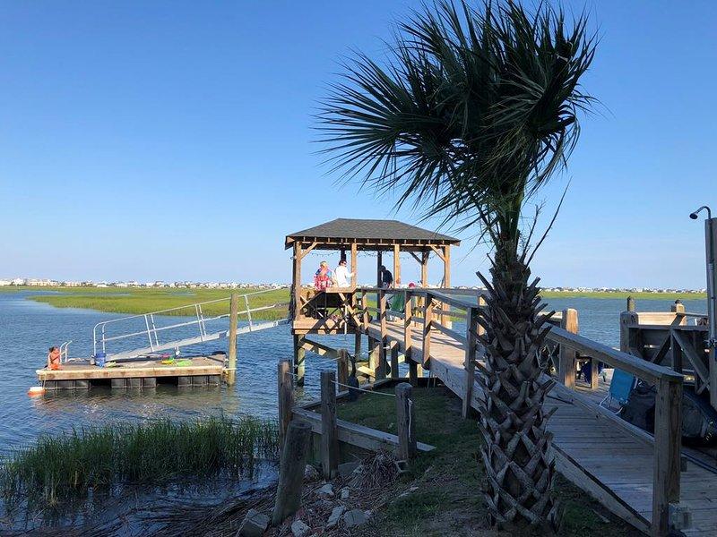 2-dock at high tide