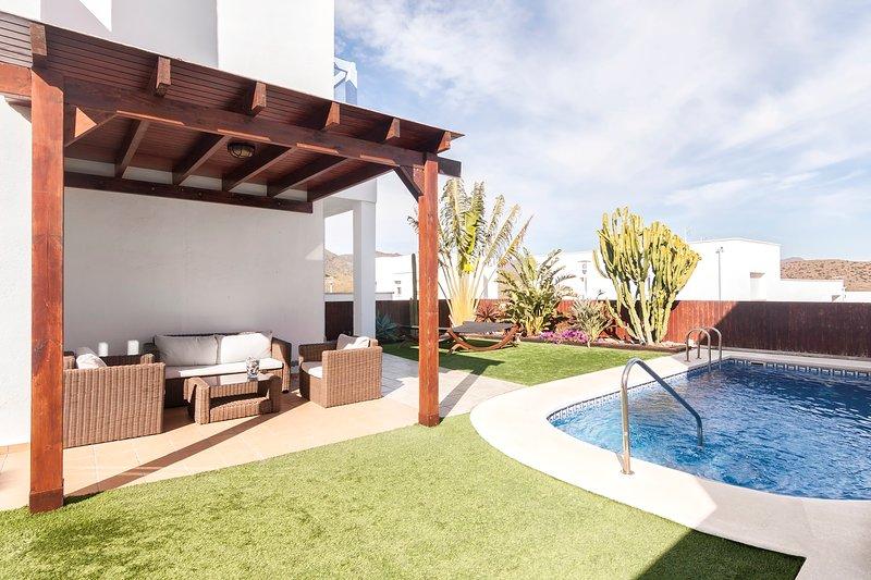 Villa Zaratiegui. Villazul Cabo de Gata, alquiler de vacaciones en Cabo de Gata