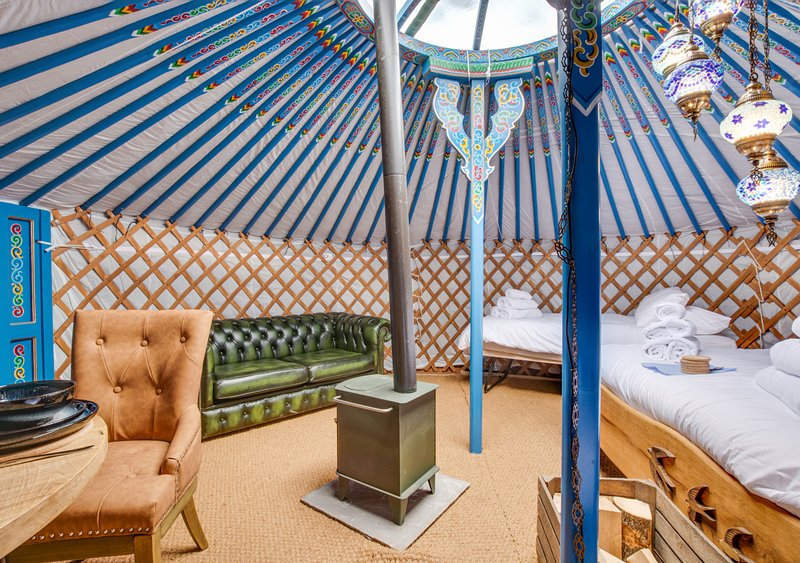 Swallow Yurt, holiday rental in Raydale