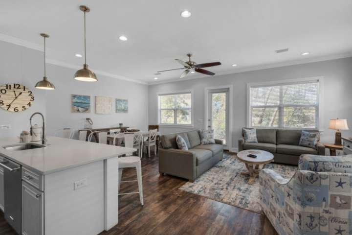 Upon entering you will notice the beautifully appointed spacious open layout!