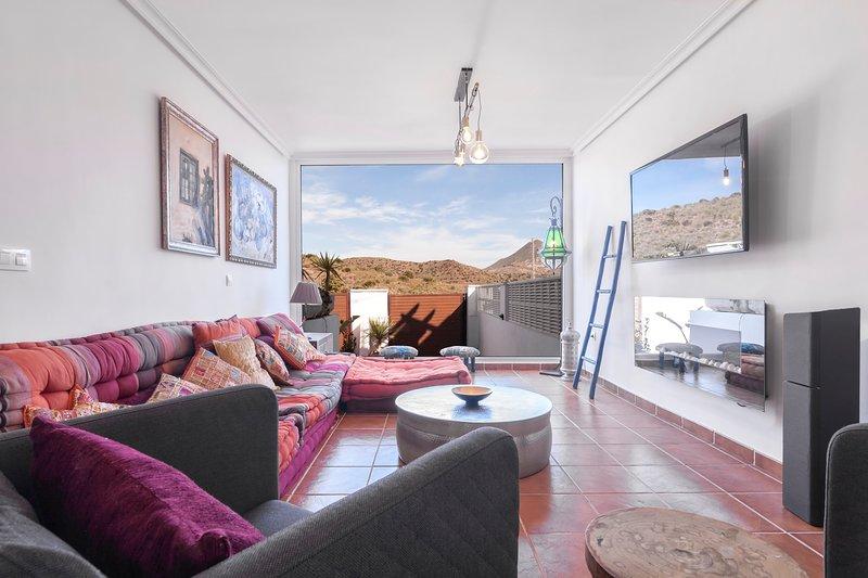 Casa Energía del Cabo, alquiler de vacaciones en Cabo de Gata