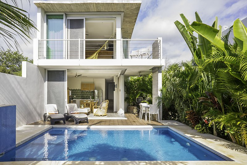 Villa 34 ➸Leisure canal 20+Mbps private villa *monthly rates, holiday rental in Solidaridad